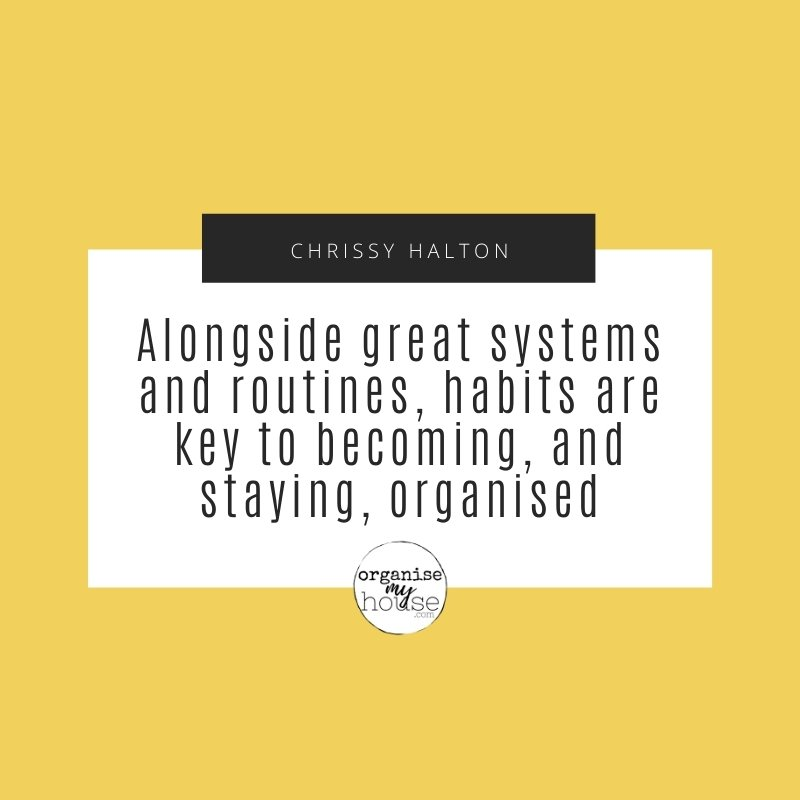 Quote - Alongside Great Systems and Routines...