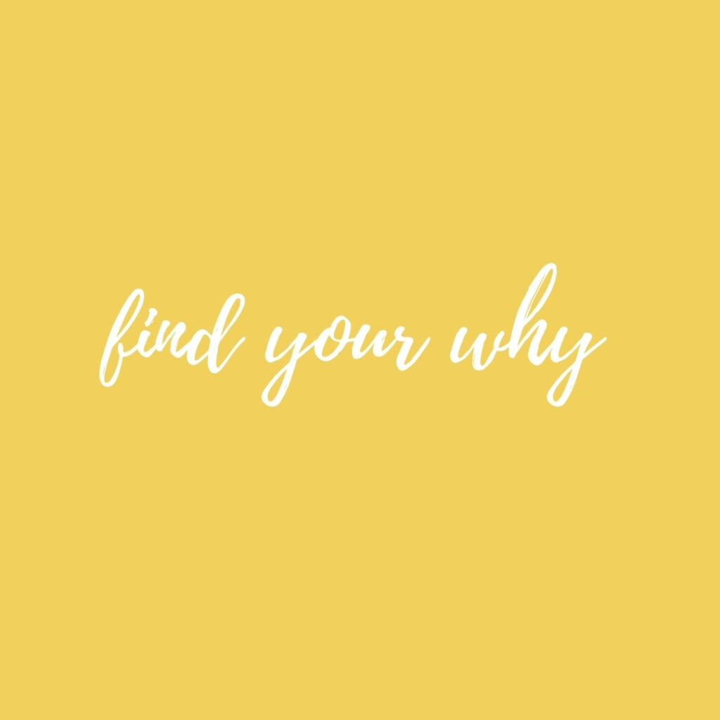 Quote - Find your why