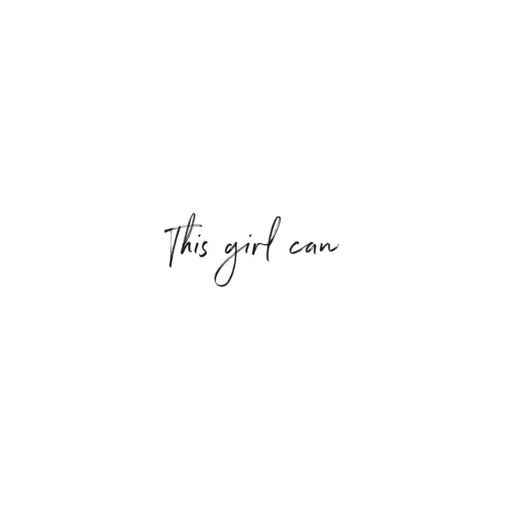 Quote - This girl can