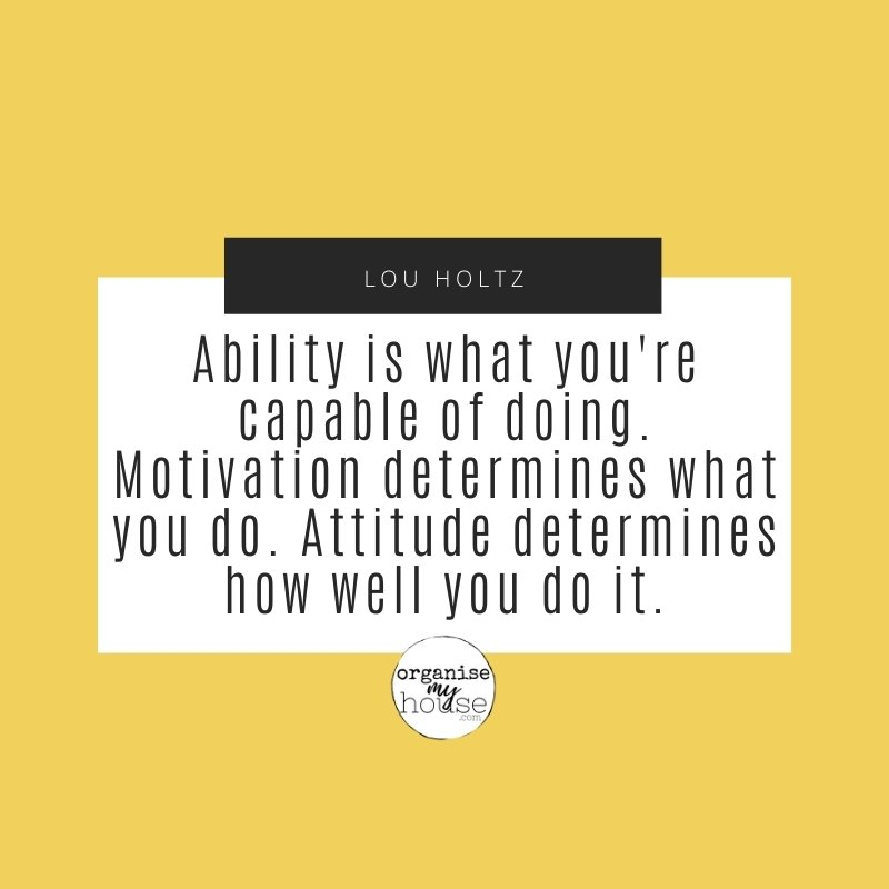Quote - ability is what you're capable of