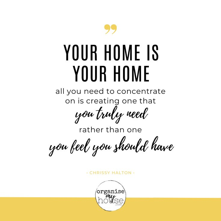 Home Quote - Your Home Is Your Home