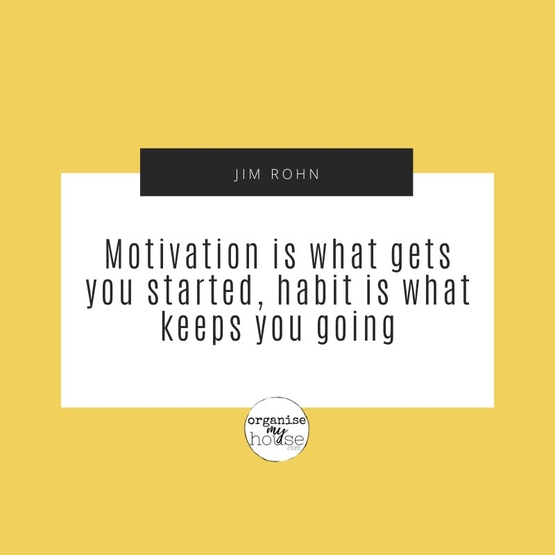 Quote - Motivation is what gets you started