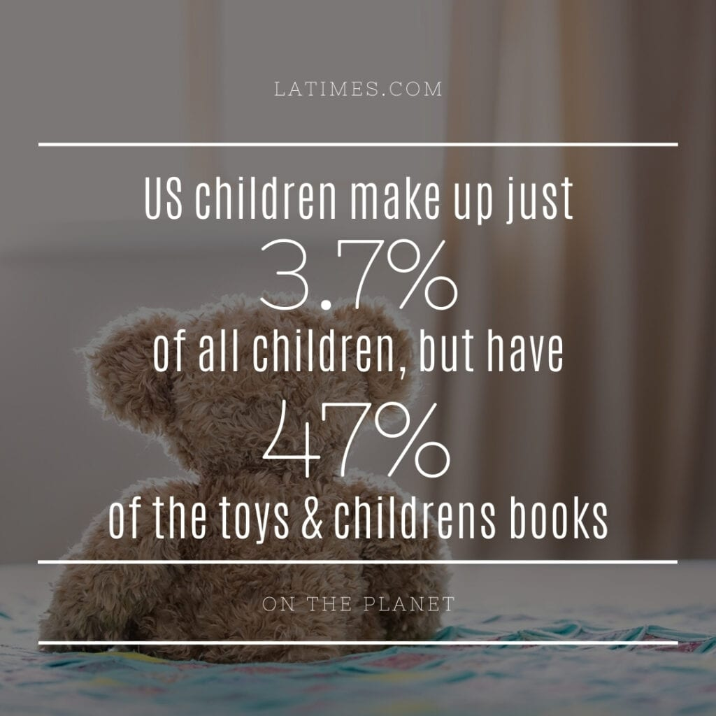 Clutter Stat - childrens toys