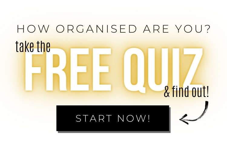 How organised are you - Free Quiz