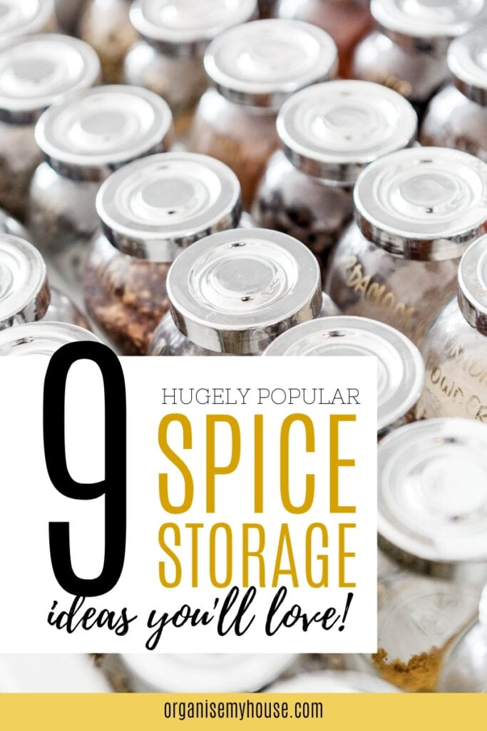 9 hugely popular spice storage ideas you're going to love!