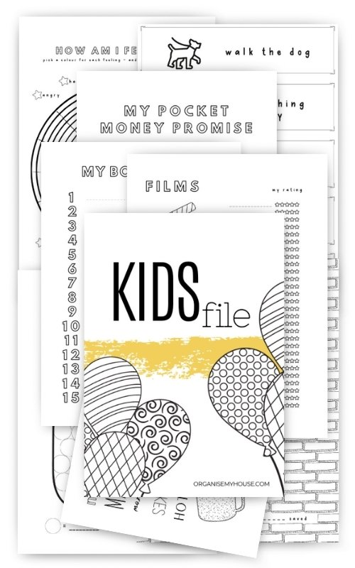 Kids file long pages