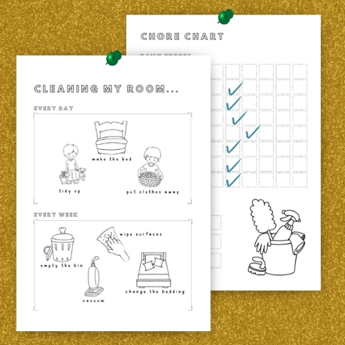 Kids File - Chore Charts Pages