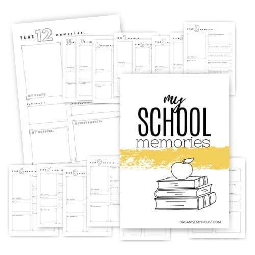School Memories Pages