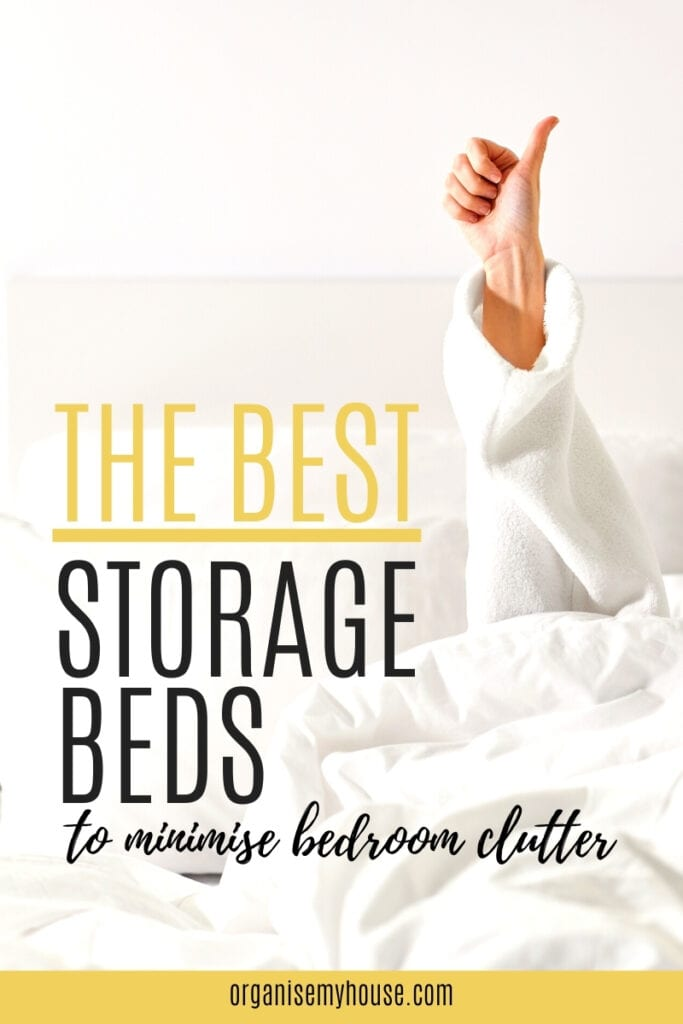 The best storage beds to help minimise bedroom clutter for good
