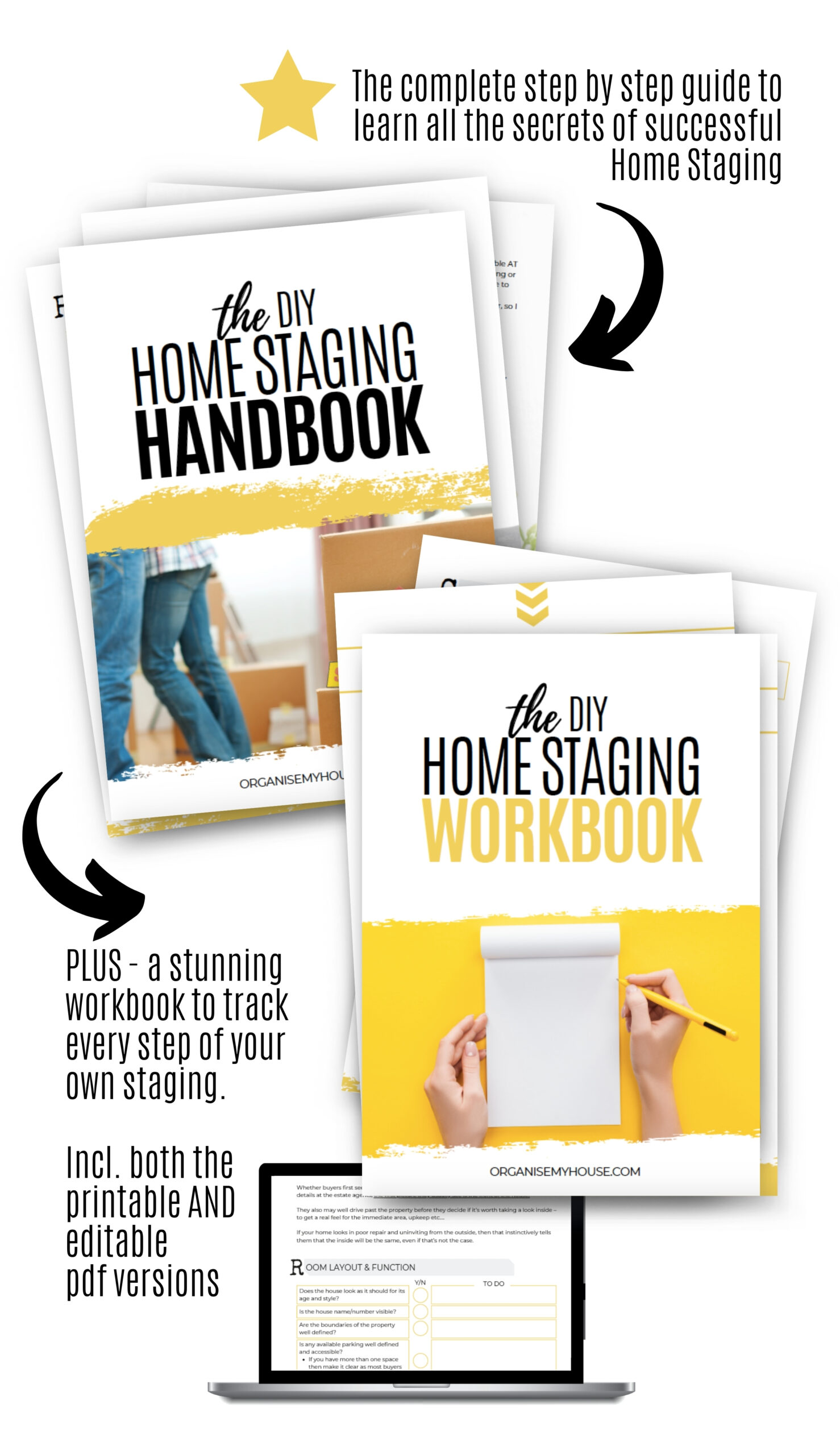The DIY Home Staging Toolkit package