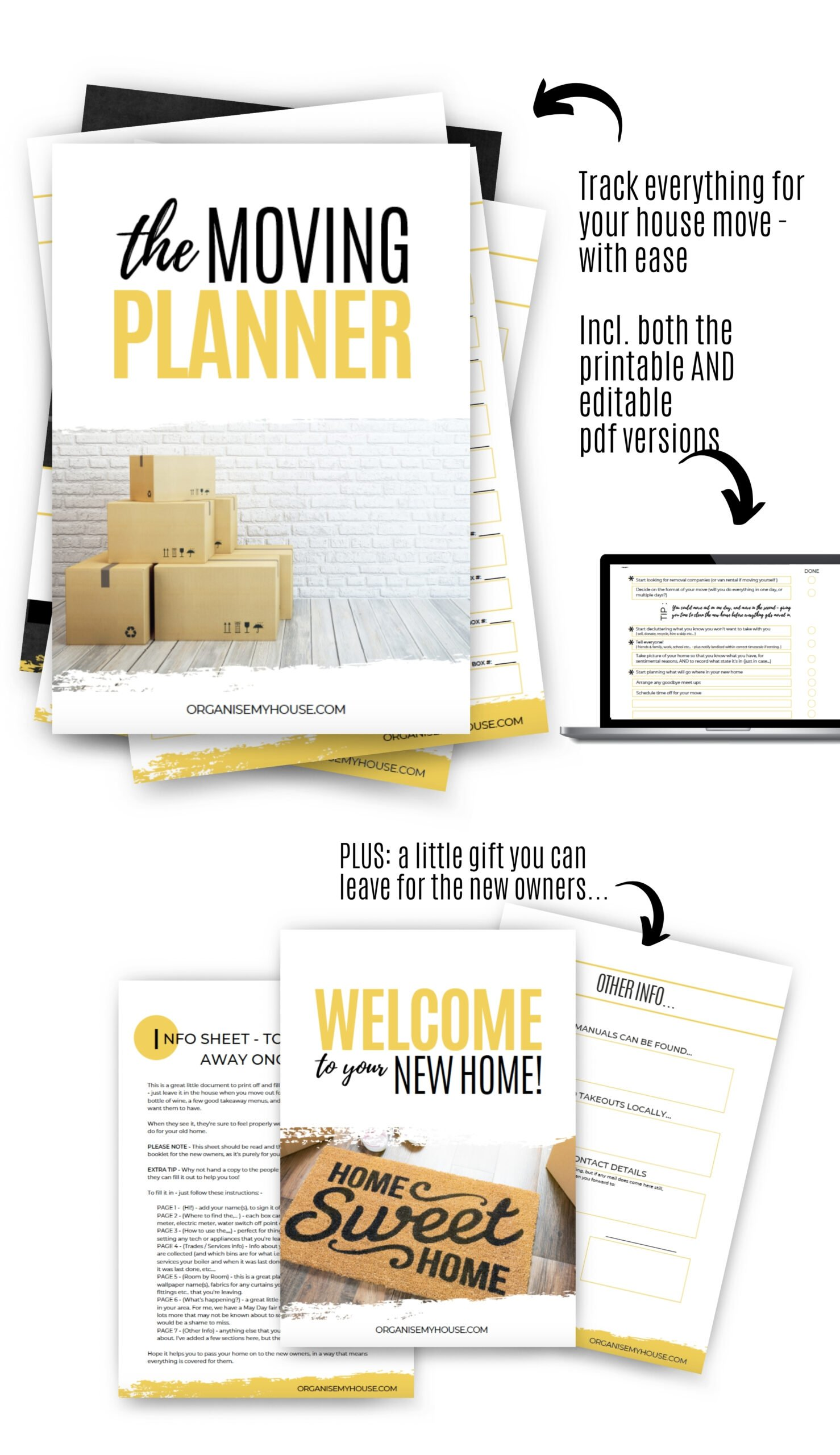 The Moving Planner - Making Moving House easier