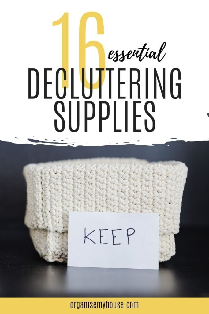 16 Essential Decluttering Supplies You'll Need To Have Ready!